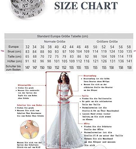 Weisse Hohe Stil mit Zweiteiliger Tuell Spitze W Hochzeitskleider Niedrige Damen O Brautkleider D 1ISqwS7