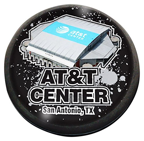 NBA San Antonio Spurs AT&TCenterbkppw80, 3'' by Forever Crystal