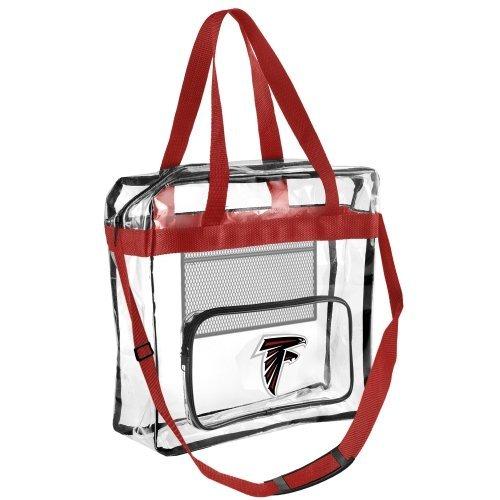 FOCO Atlanta Falcons Clear High End Messenger (Atlanta Falcons Nfl Bean Bag)