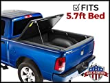 Gator Evo Hard Bi-Fold (fits) 2009-2018 Dodge Ram 5.7 FT Bed No RamBox ONLY Bi Folding Tonneau Truck Bed Cover (GC35006) Made in The USA (Also Fits 2019 Classic Legacy Models)