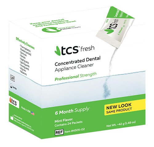 TCS Dental Appliance Cleaner (6-Month (Dental Cleanser)