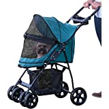 Pet Gear PG8030NZPGA Pine Green No-Zip Happy Trails Lite Pet Stroller
