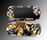 Transformers Bumblebee Movie Video Game Vinyl Decal Skin Protector Cover Kit for Sony PSP 1000 Playstation Portable, Best Gadgets
