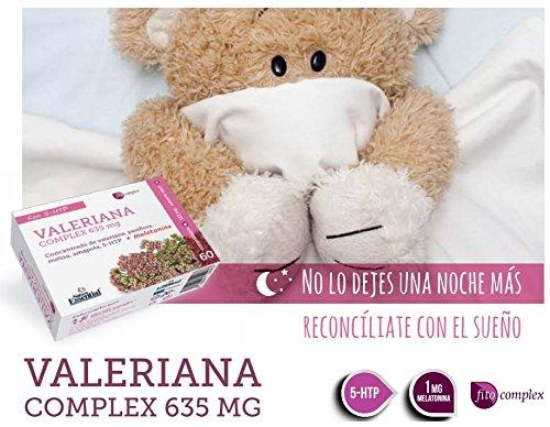 VALERIANA (COMPLEX) CON MELATONINA 1 mg 2 x 60 Cáps. NATURE ESSENTIAL: Amazon.es: Salud y cuidado personal