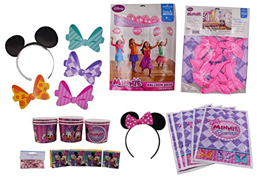 Pictures Of Minnie Mouse Costumes (Minnie Mouse Party Birthday Supplies Decorations Pack (PK2))