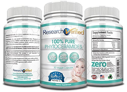 Amazon research verified 100 pure phytoceramides 90 capsules amazon research verified 100 pure phytoceramides 90 capsules 3 month supply 100 pure wheat extract oil with vitamin e 1 wrinkles fighter publicscrutiny Image collections