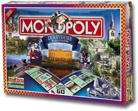 Derbyshire Monopoly Board Game: Amazon.es: Juguetes y juegos