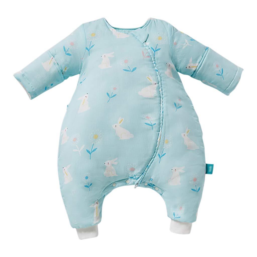 HUYP 赤ちゃんの寝袋子供のアンチキックは四季普遍的な足の寝袋秋春夏厚くなります (色 (色 yards : White A-quilted, サイズ さいず : 100 110 yards) B07P3Z6DGD 100 yards|Light green A-quilted Light green A-quilted 100 yards, ハサミチョウ:90b836d8 --- artmozg.com