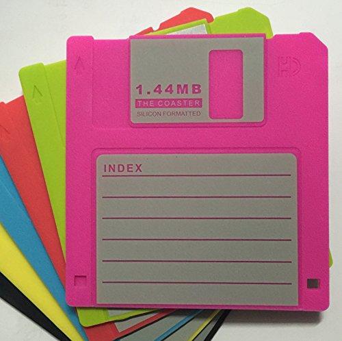 5160LLmeM0L - Retro Floppy Disk Coasters