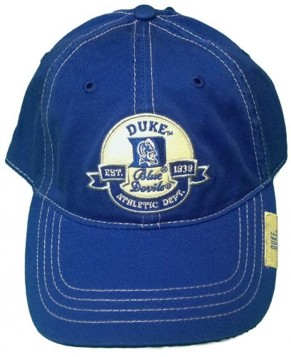 info for cce49 12a11 Image Unavailable. Image not available for. Color  New! Duke University  Blue Devils Adjustable Buckle Back Hat Embroidered Cap