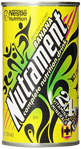 Energy and Fitness Drink, , 12 Ounce Cans (Pack of 12), Banana