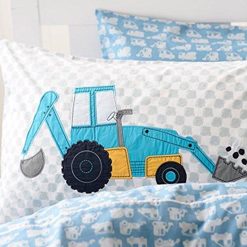 Cute cartoon dump truck kids bedding set boys bed covers ebay - Kids dump truck bed ...