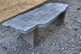 Flagstone Bench Precast Concrete Mold Set - 5 ft