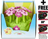 Melissa & Doug Pretty Petals Sprinkler: Sunny Patch Outdoor Play Series + FREE Scratch Art Mini-Pad Bundle [67157]