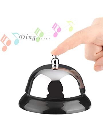 Office Desk Call Bells | Amazon com | Office & School