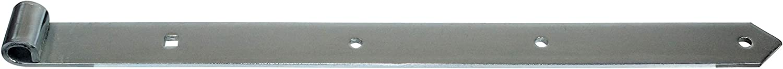 Breite: 37mm f/ür 13mm Kloben Stahl verzinkt SN-TEC Ladenband//T/ürband//Torbeschlag L/änge: 500mm