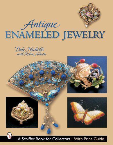 Antique Enameled Jewelry (Schiffer Book  - Gold Enameled Star Shopping Results