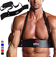 DMoose Fitness Heavy Duty Arm Blaster for Biceps & Triceps Building and Muscle Strength Gains, Contoured,