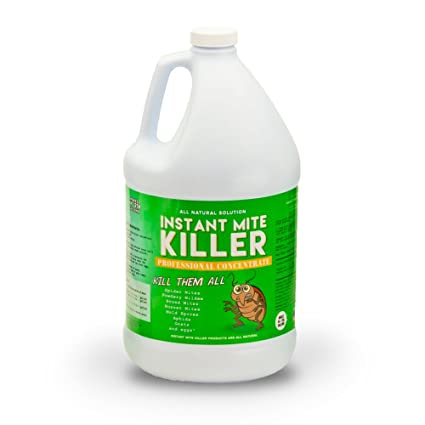 Instant Mite Killer - Destroy Spider Mites, Broad Mites, Powdery Mildew,  and More, Super Concentrate Makes 128 gallons