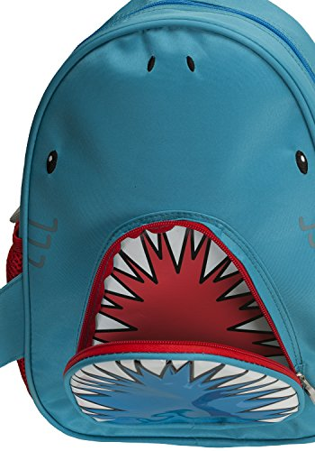 Rockland Jr. My First Backpack, Shark, One Size