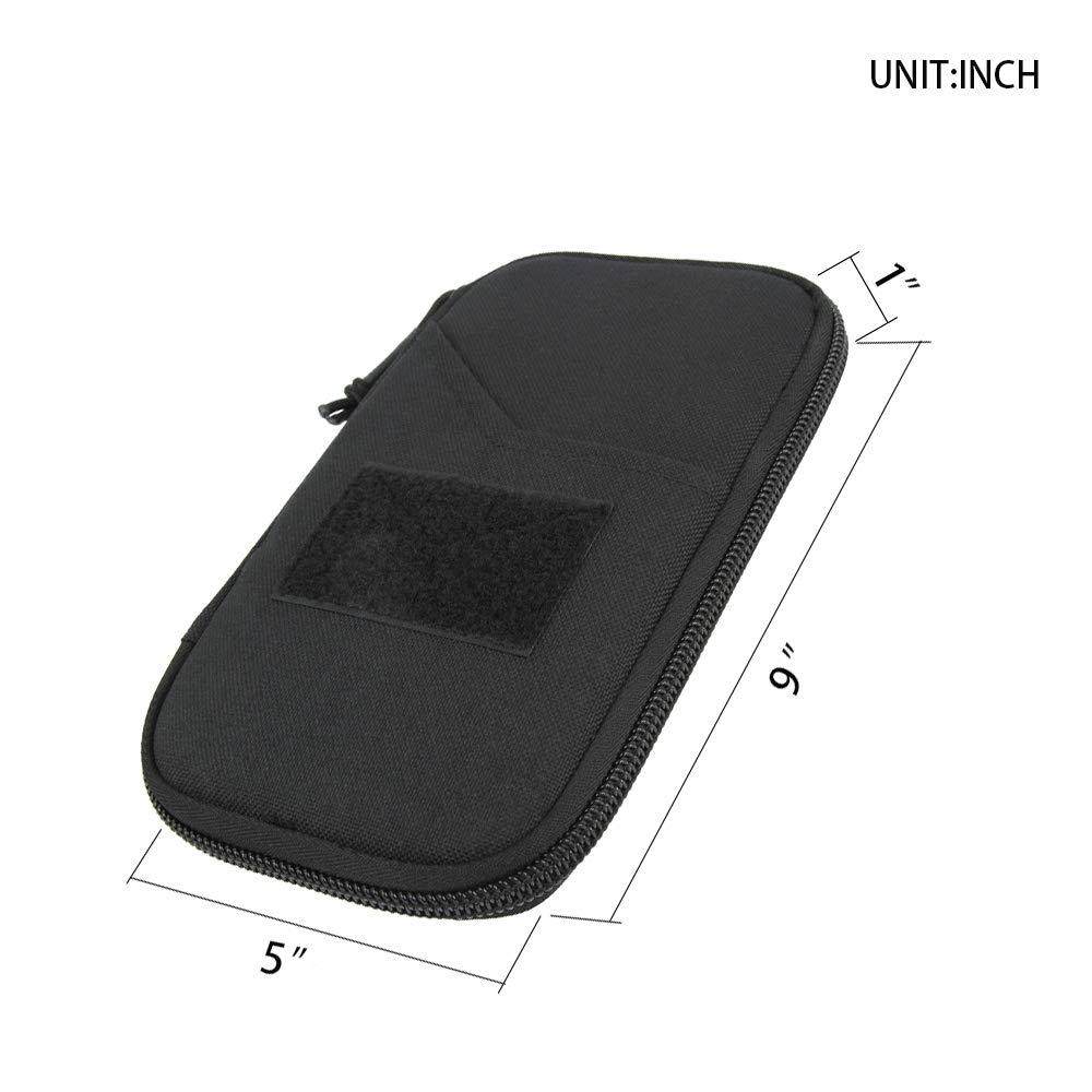 EXCELLENT ELITE SPANKER Tactical Neck Passport Wallet Holder Outdoor Hiking Nylon Concealed Travel Pouch