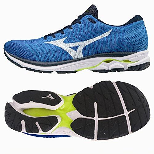 Mizuno Waveknit R1, Scarpe da Running Uomo Blau
