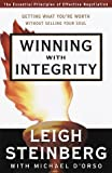Winning with Integrity, Leigh Steinberg and Michael D'Orso, 0375501797