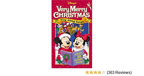 Amazon Com Disney S Sing Along Songs Very Merry Christmas Songs