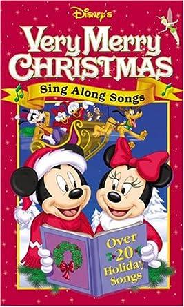 Disney Sing Along Songs Christmas Vhs.Disney S Sing Along Songs Very Merry Christmas Import