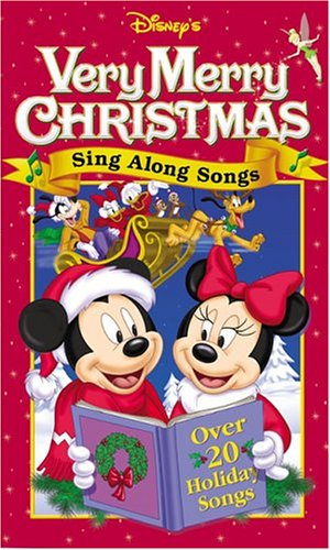 Disney's Sing Along Songs - Very Merry Christmas Songs: Over 20 Holiday Songs [VHS] (The Family Christmas Song Guy)