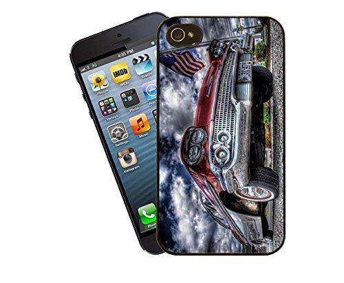 Hdr Old voiture–Ce modèle de coque pour Apple iPhone 4et 4S–by Eclipse idées cadeau