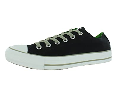 f840ed584050 Converse Unisex Chuck Taylor All Star Low Top Black Jung Sneakers - 4 D(
