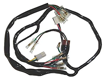 5160PiqQbrL._SX355_ amazon com honda ct70 ct 70 wiring harness ko hko oem replacement honda factory radio wire harness codes at eliteediting.co