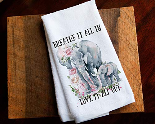 - Elephant Kitchen Towel Baby Shower Gift for New Mom