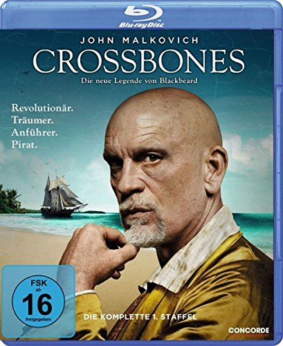 Crossbones (Season 1) - 2-Disc Set ( Cross bones - Season One ) [ Blu-Ray, Reg.A/B/C Import - Germany ]