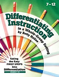 * DIFFERENTIATING INSTRUCTION IN A