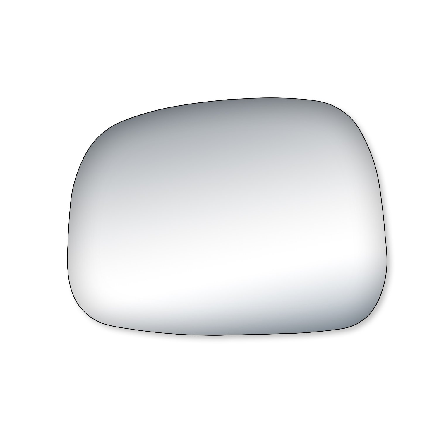 Fit System 90258 Rendezvous Passenger Side Replacement Mirror Glass
