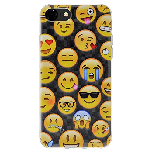 """Amzer Coque en gel souple transparent """"Emotions mixte coussin en TPU pour Apple iPhone 7"""