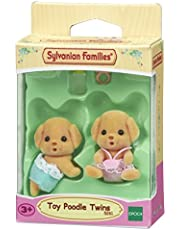 Sylvanian Families Toy Poodle Twins,Figures