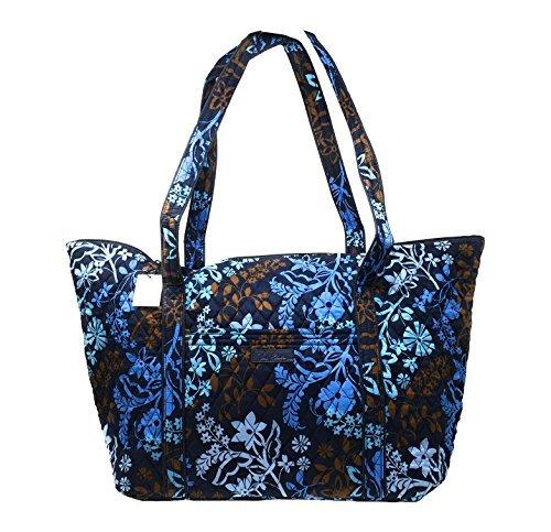 Floral Print Beach Bag - Vera Bradley Miller Travel Bag - Retired Prints (Java Floral)