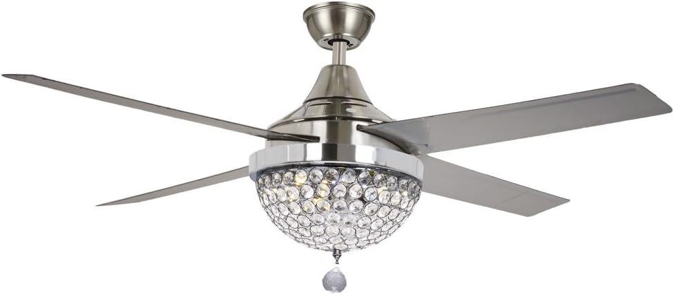 TiptonLight - Lámpara de techo plegable con lámpara de araña de ...