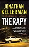 Front cover for the book Therapy by Jonathan Kellerman