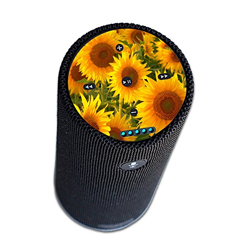 MightySkins Protective Vinyl Skin Decal for Amazon Echo Tap wrap Cover Sticker Skins Sunflowers