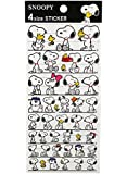 Snoopy and Family Assorted Sticker Collection Set (43 Stickers)