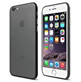iPhone 7 Case, [ SUKAI ] Slim / Ultra-Thin (0.35mm) PP (Semi-transparent) Thinnest Hard Protect Case Back Cover Bumper Lightweight for iPhone 7. [Grey]