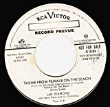 45vinyl THEME FROM FEMALE ON THE BEACH / DESTINY (7