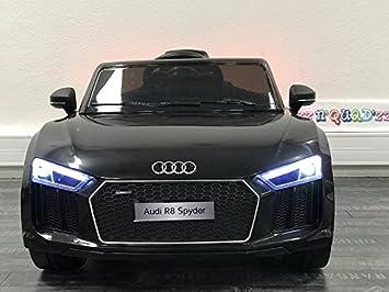 Kid'zzz Voiture Pour N' Quad'zzz Électrique R8 Jl4q35ar Enfant Audi 12v OXiwkulZTP