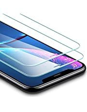 ESR Screen Protector for iPhone XR [2 Pack] [Easy Installation Frame] [Case Friendly], Premium Tempered Glass Screen Protector for iPhone 6.1 inch