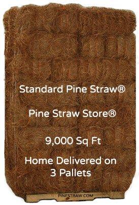 "Pine Mulch - 9""Long - 9000 SqFt"