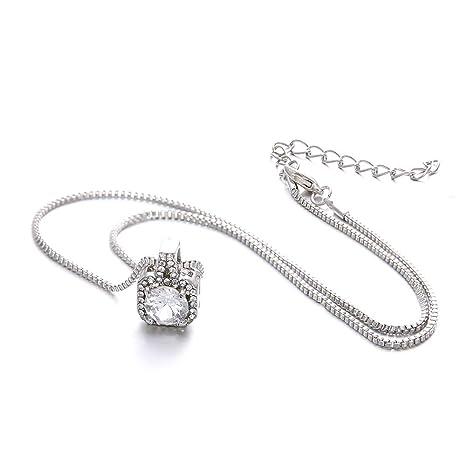 Amazon.com: Sinfu collar, pequeño reloj despertador cuadrado ...